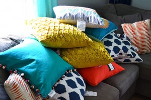 Pillow Options From Target And Home Goods