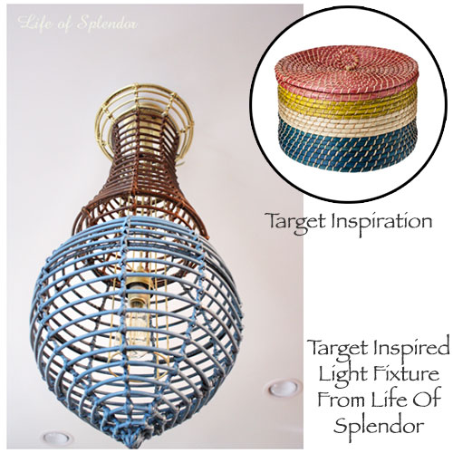 Target Inspired Chandelier From Life Of Splendor