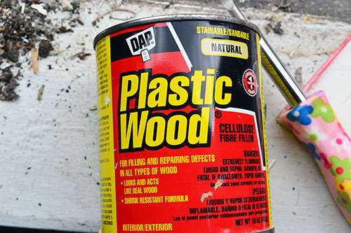 Plastic Wood For Wood Repair