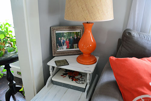 Refinished Living Room End Table