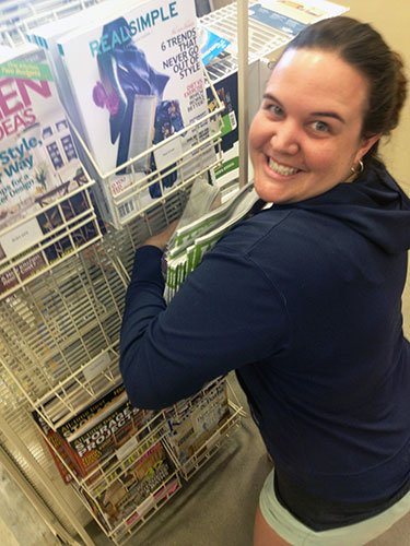 Seeing Our Magazine Feature At Home Depot For The First Time
