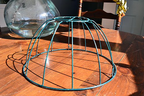 Thrift Store WIre Basket
