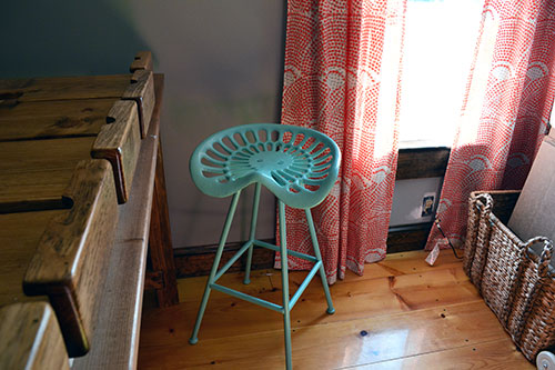 Diy Tractor Seat Bar Stools Turquoise Tractor Seat Stool
