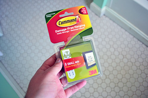 Velcro Command Strips