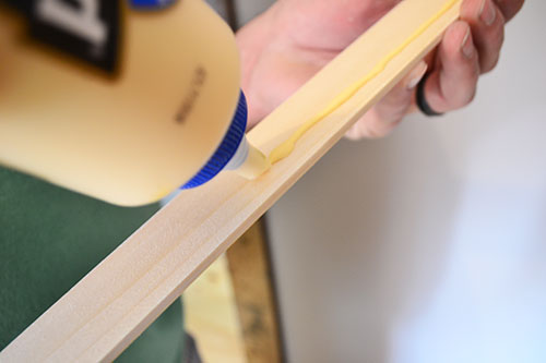 Gluing Trim Pieces