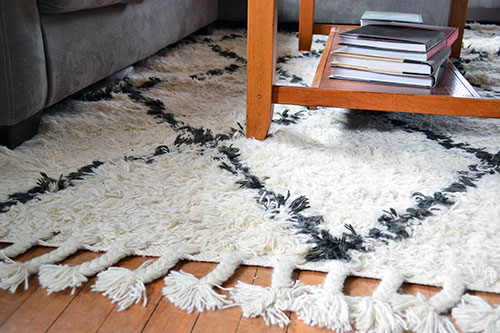 marrakesh shag rug from rugs usa - angie's roost