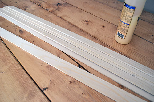thin wood strips to trim bead board angie 39 s roost. Black Bedroom Furniture Sets. Home Design Ideas