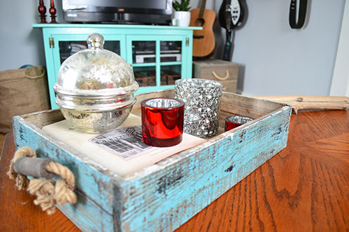 Christmas Decor On Coffee Table 2013