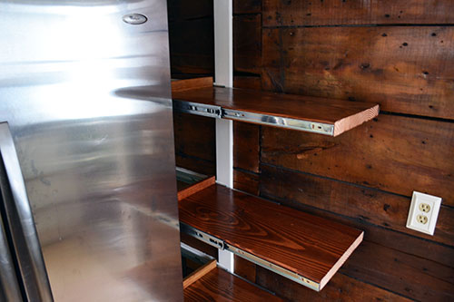 Kitchen Pantry Pull Out Shelves
