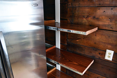 Pull Out Kitchen Pantry Shelves