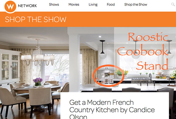 Roostic Cookbook Featured On Candice Tells All