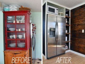 Kitchen Pantry Before And After