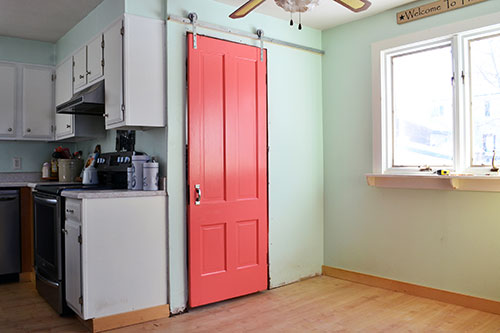 Converting A Bedroom Door To A Coral Barn Door