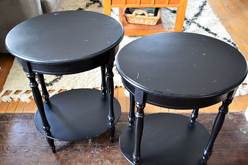 Black Side Tables From Home Goods