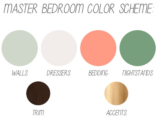 Master Bedroom Color Scheme - Angie\'s Roost