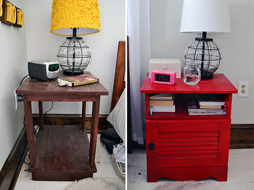 Nightstands Before