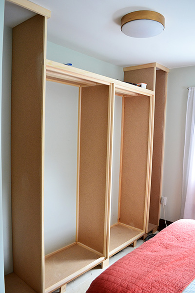 diy master closet building angie 39 s roost. Black Bedroom Furniture Sets. Home Design Ideas