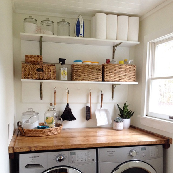 Angie's Roost Laundry Room Makeover on Instagram
