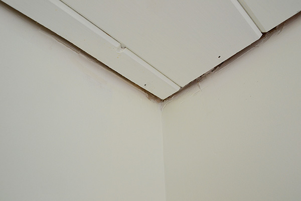 Gap Between Ceiling Planking And Walls