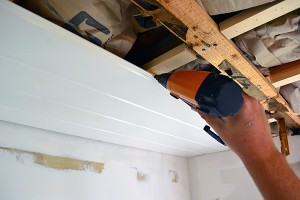 Nailing Up Ceiling Planking