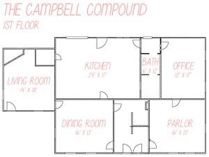The Campbell Compound 1st Floor