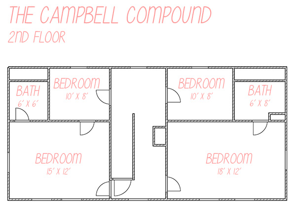 The Campbell Compound 2nd Floor