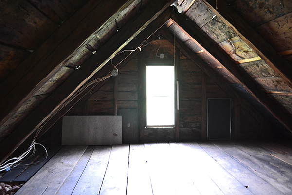 Vermont Country Home Before Second Attic