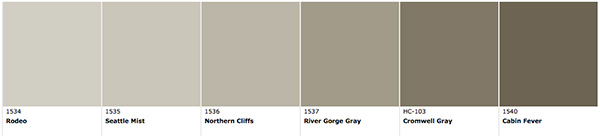 Benjamin Moore Rodeo And Cabin Fever Angies Roost