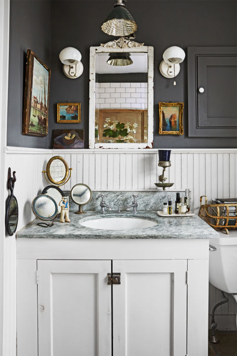 Bathroom Design Inspiration Image From, Country Living Bathrooms